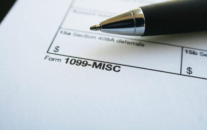 1099 IRS Audit