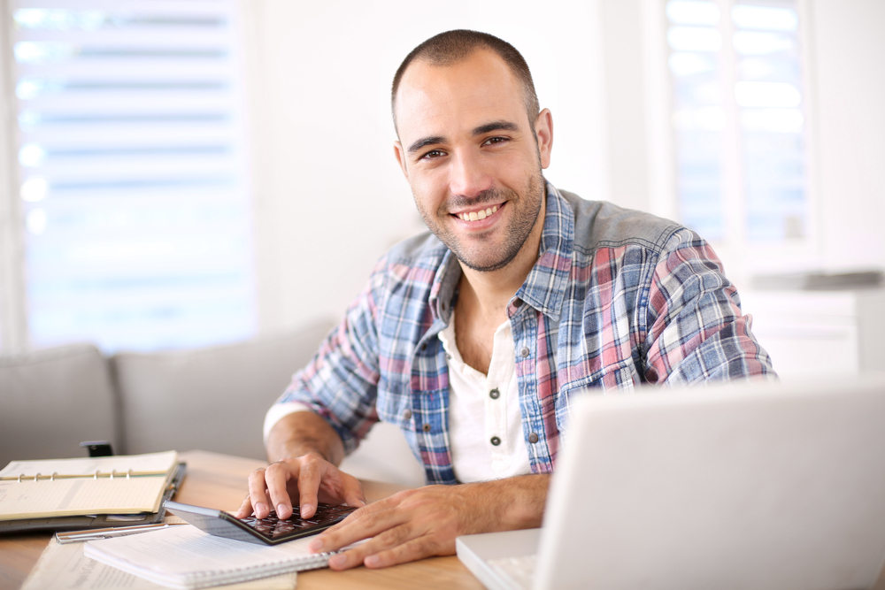 Self employed man getting government help (Big Government Help for the Self-Employed)