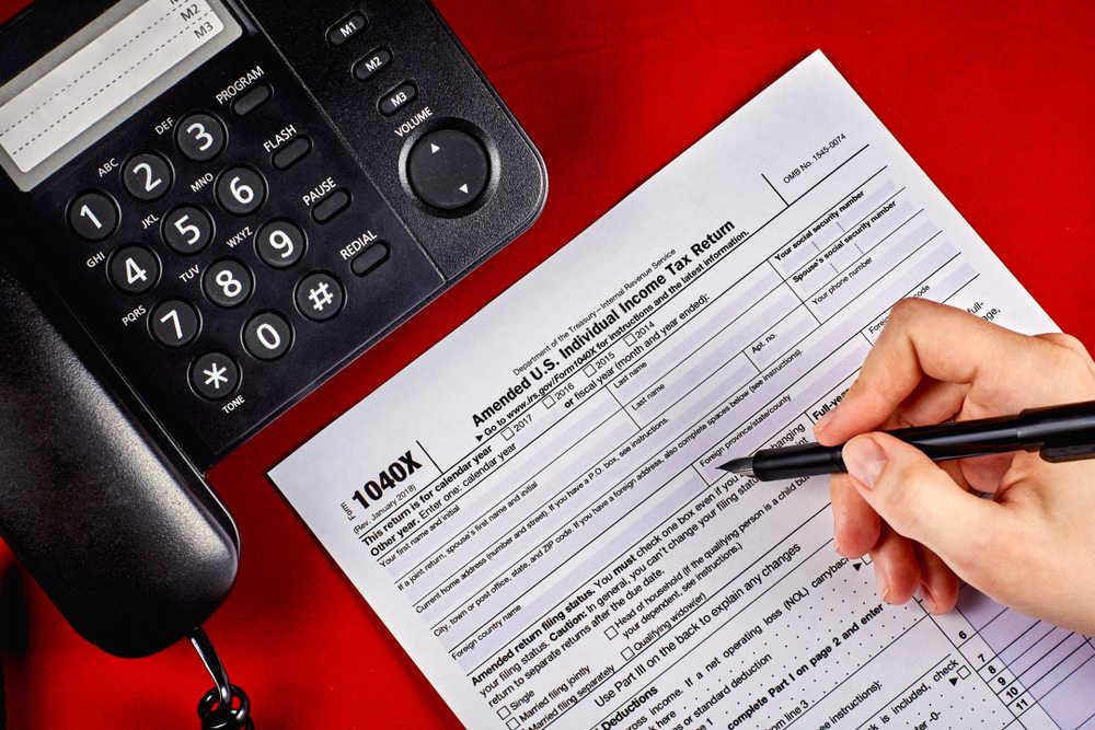 Form 1040X (Two Ways to Fix Tax Return Mistakes Before the IRS Discovers Them)
